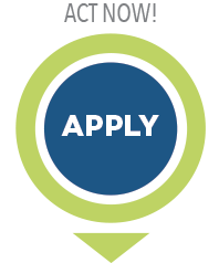 Button to apply to the online master's in energy and environmental management degree program.